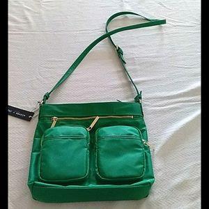 Olivia + Joy green crossbody purse NWT